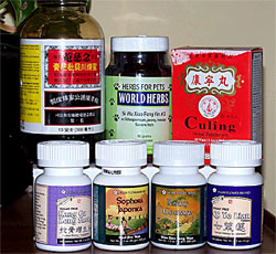 Chinese herbal formulas are typically composed of 8-12 substances, ranging from plants and minerals to animal parts and insects.